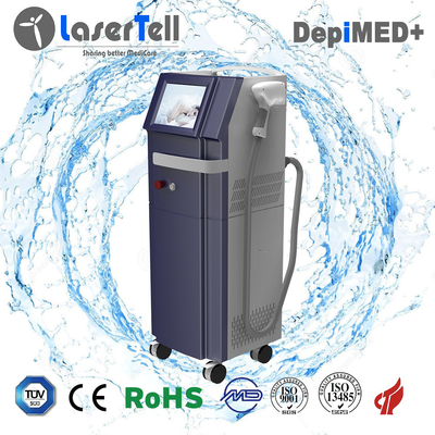 Permanent treament result 808nm Diode permanent laser hair removal machine